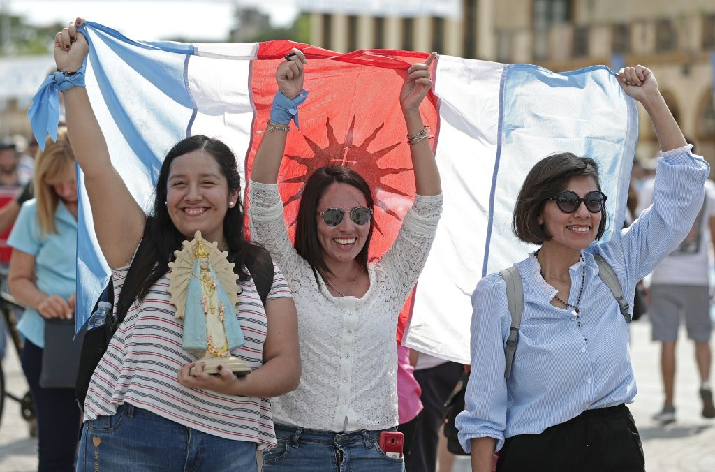 ARGENTINA-RELIGION-ABORTION-MASS-PROTEST