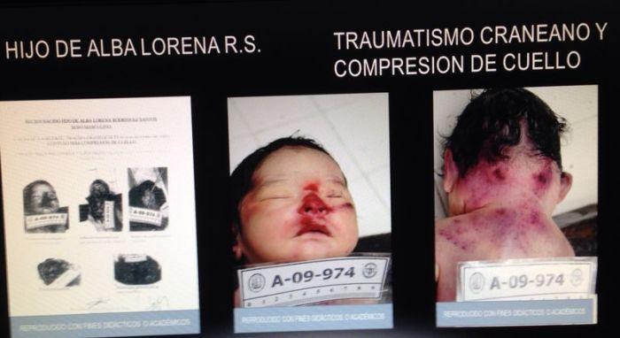 Son of Alba Rodriquez Santos