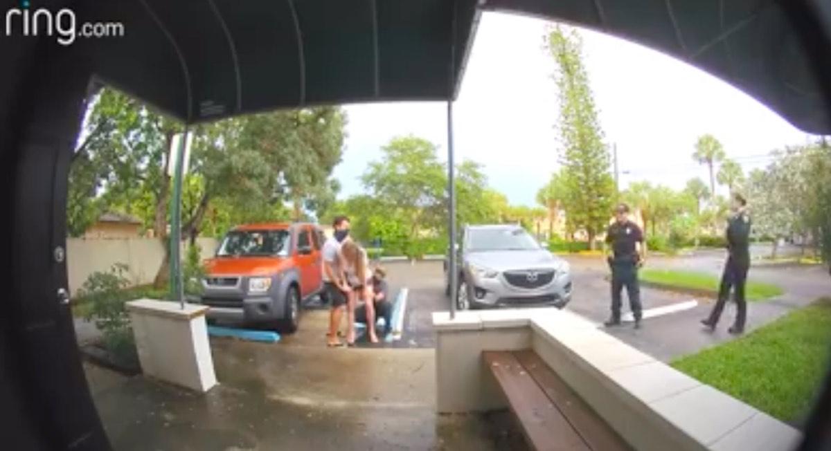 florida birth parking lot