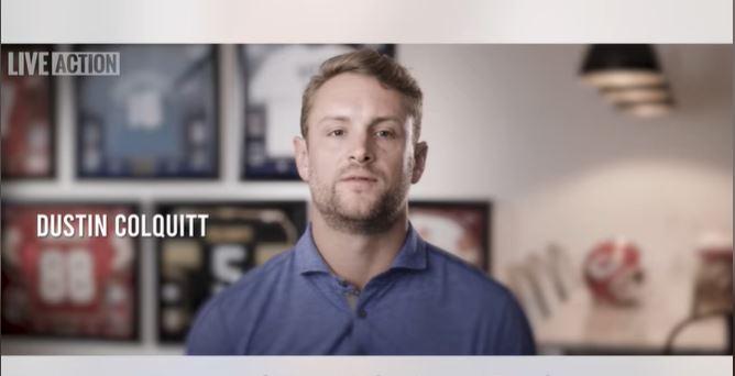 Dustin Colquitt, abortion, Super Bowl