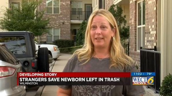newborn garbage found