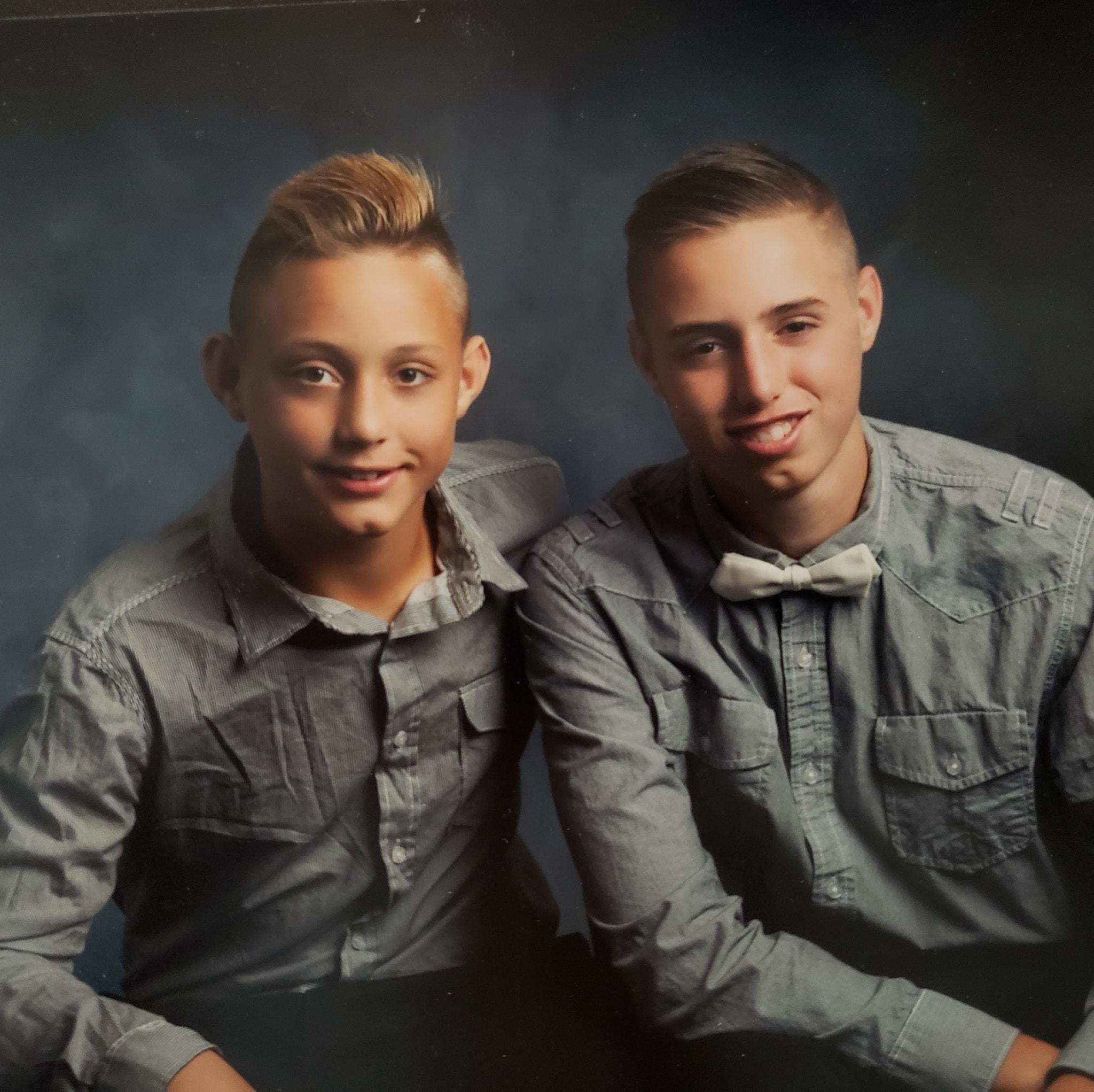 Caleb and kyler 3