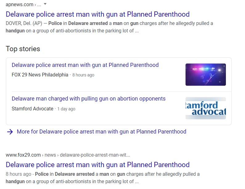 Image: Media violence headlines biased against pro-life victims