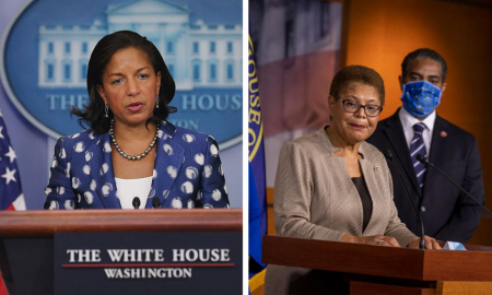 Joe Biden, Karen Bass, Susan Rice, elections, abortion