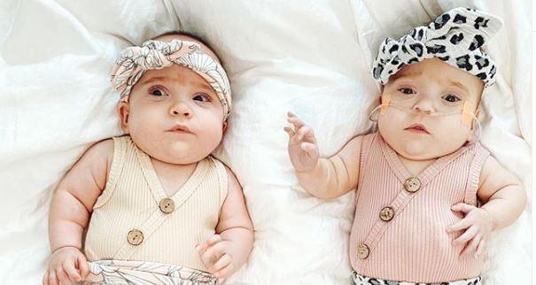 vivi and margot premature twins
