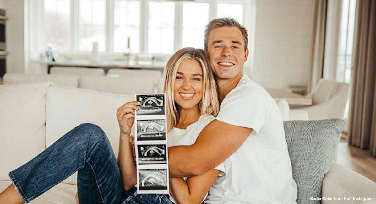 sadie robertson huff pregnancy instagram