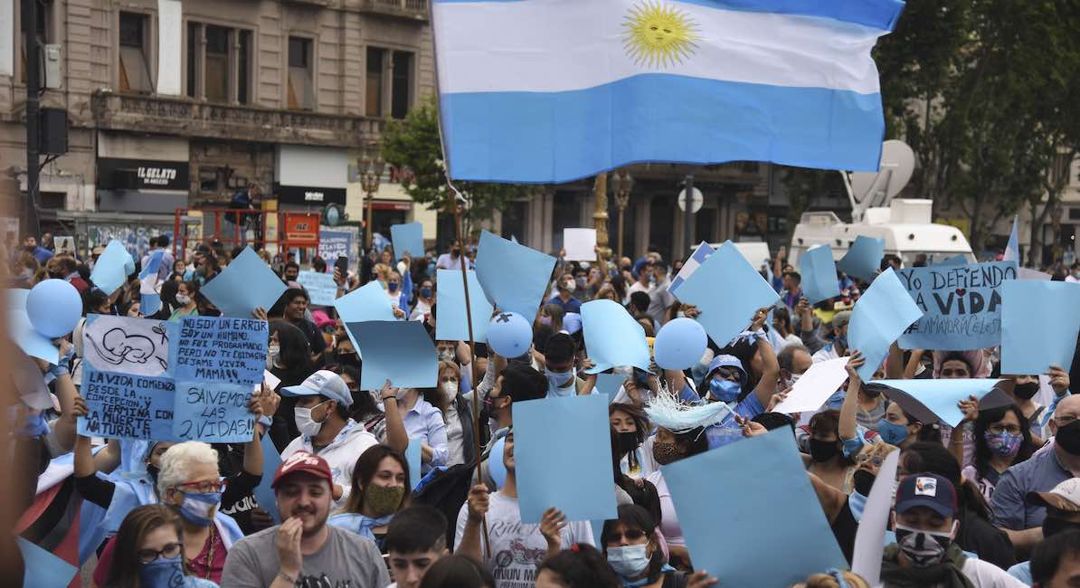Protest in Argentina
