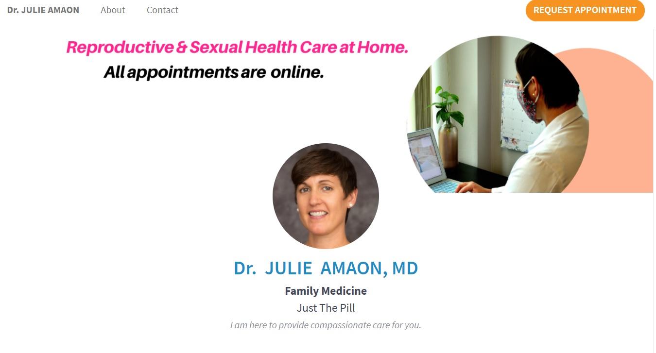 Just the Pill Dr Julie Amaon Minnesota abortion pill