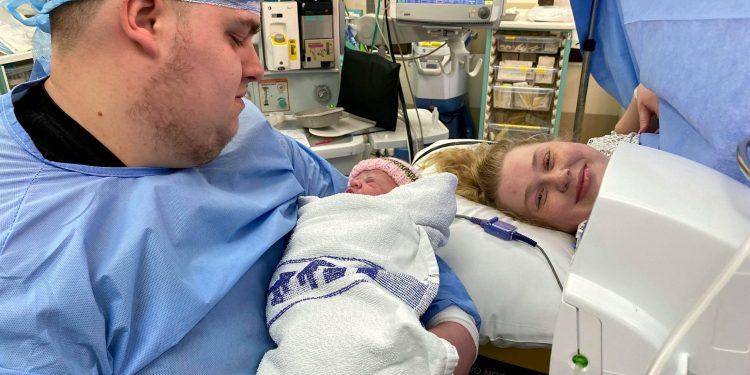 ellie whittaker connie birth RealFix Facebook