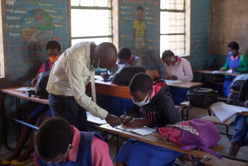 MALAWI-BLANTYRE-COVID-19-SCHOOL-REOPENING