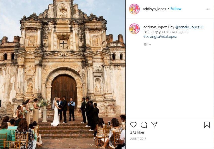 addisyn lopez wedding instagram