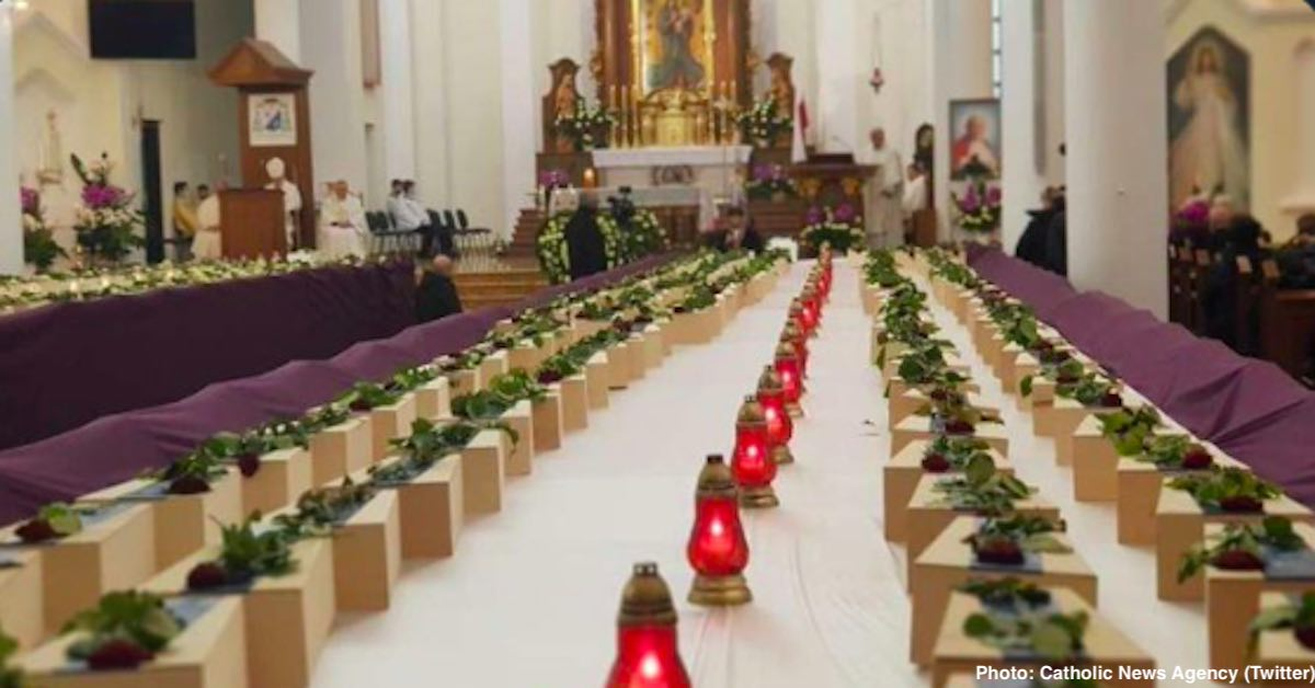 mass for unborn poland CNA photo Twitter