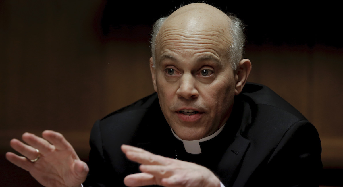 "San Francisco Archbishop Salvatore Cordileone meets with the Chronicle's editorial board on Tues. February 24, 2015. Cordileone is a leading conservative ""culture warrior""¬ù among the nation's Catholic Church leaders."