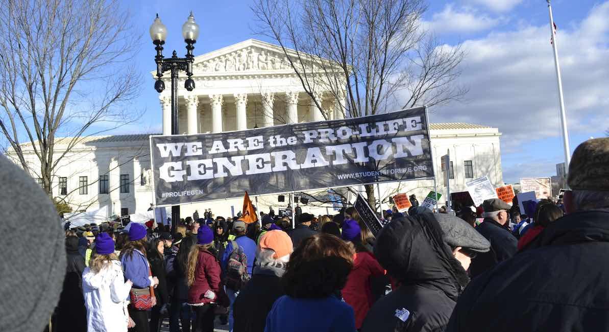 pro-life, Supreme Court