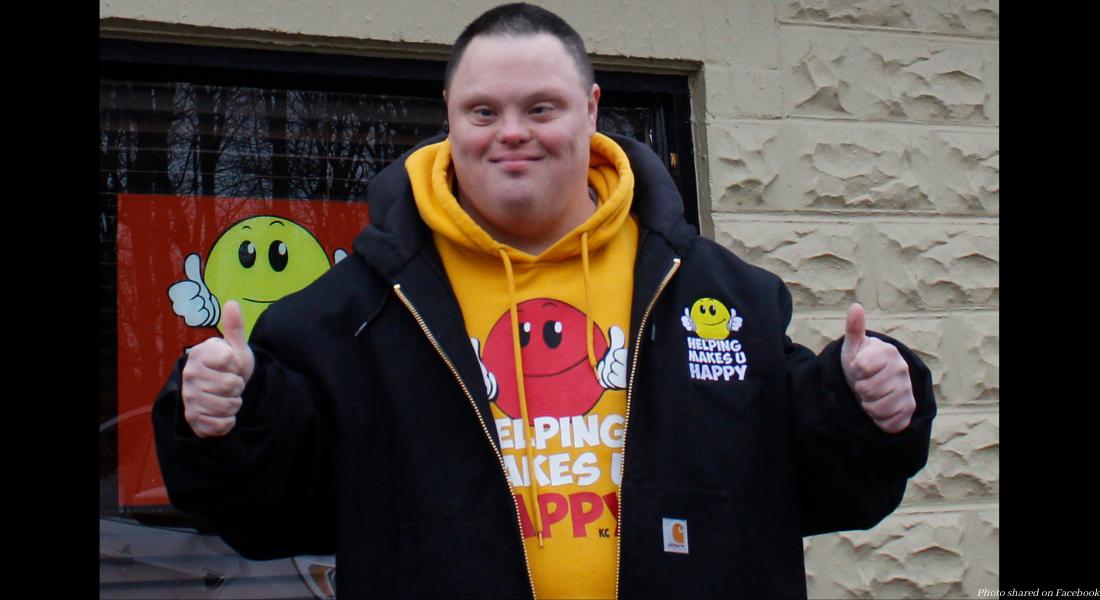 Down syndrome, Valentine's Day, Keith Caputo
