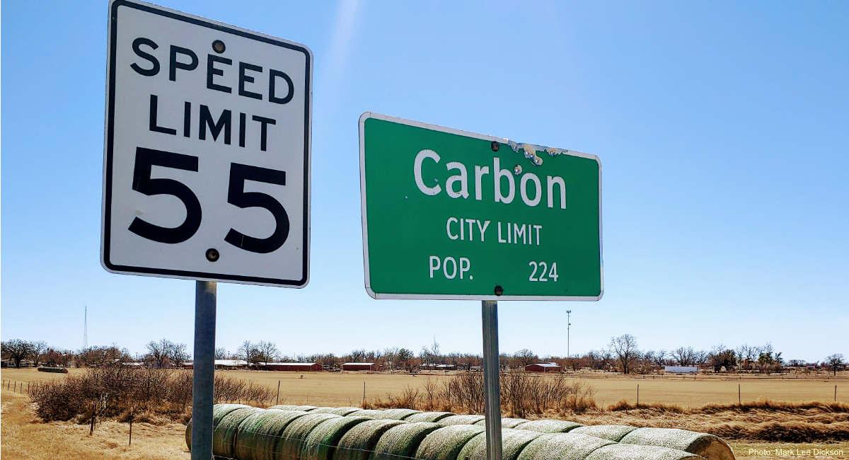 carbon tx sign