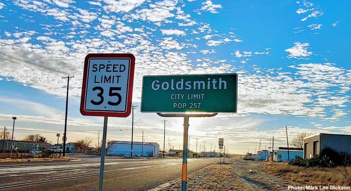 goldsmith texas