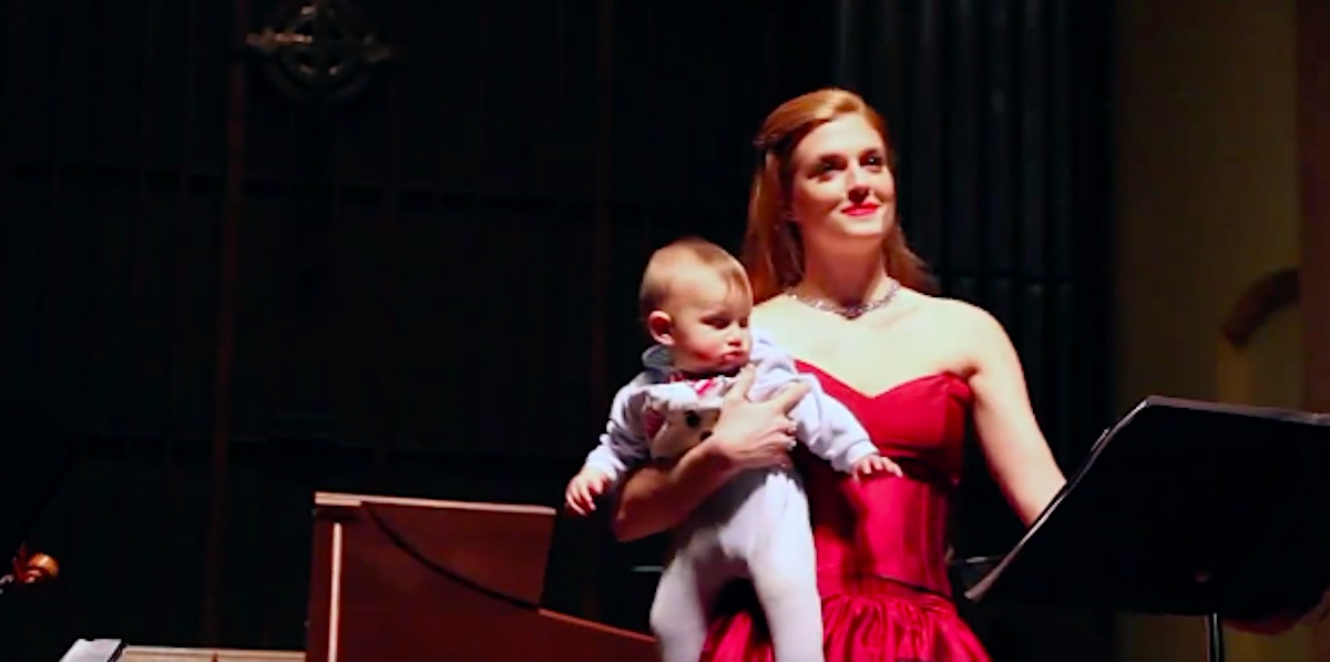 opera singer baby