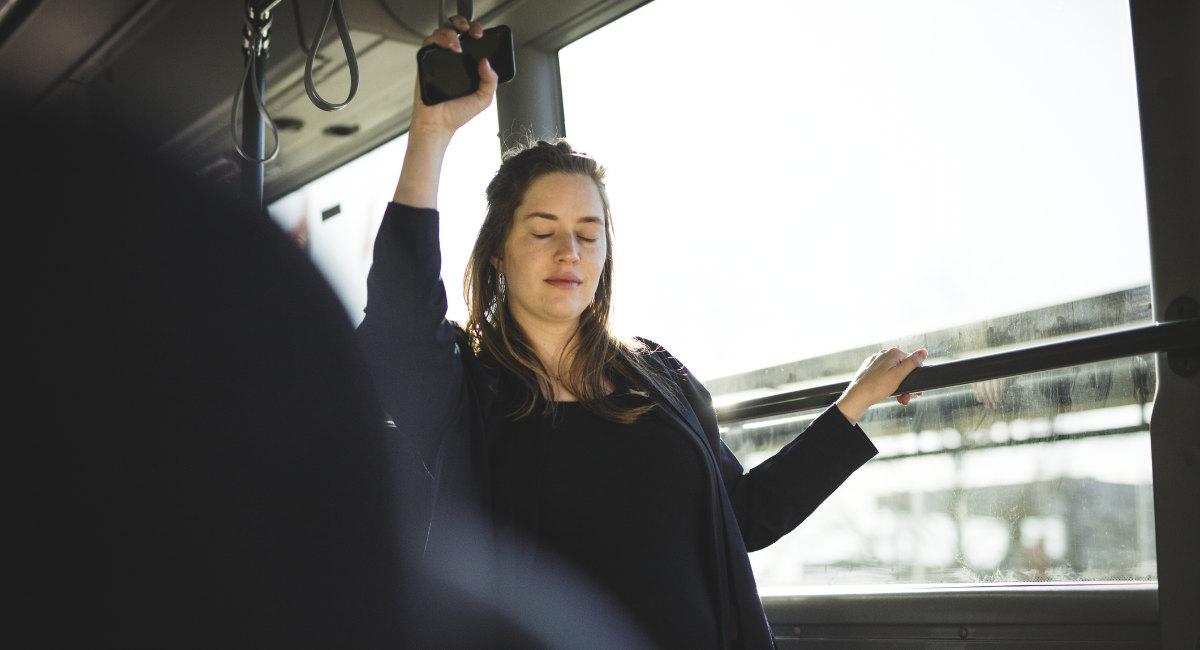 pregnant, bus
