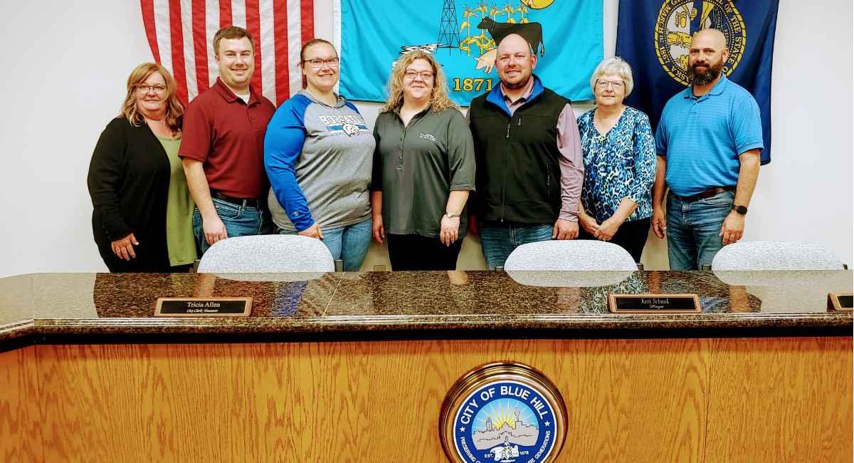 blue hill nebraska city council