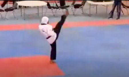 pregnant, Taekwondo