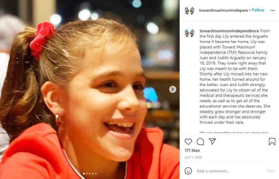 instagram, foster care, adoption, disabilities