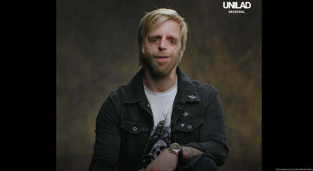 Screenshot from Facebook video