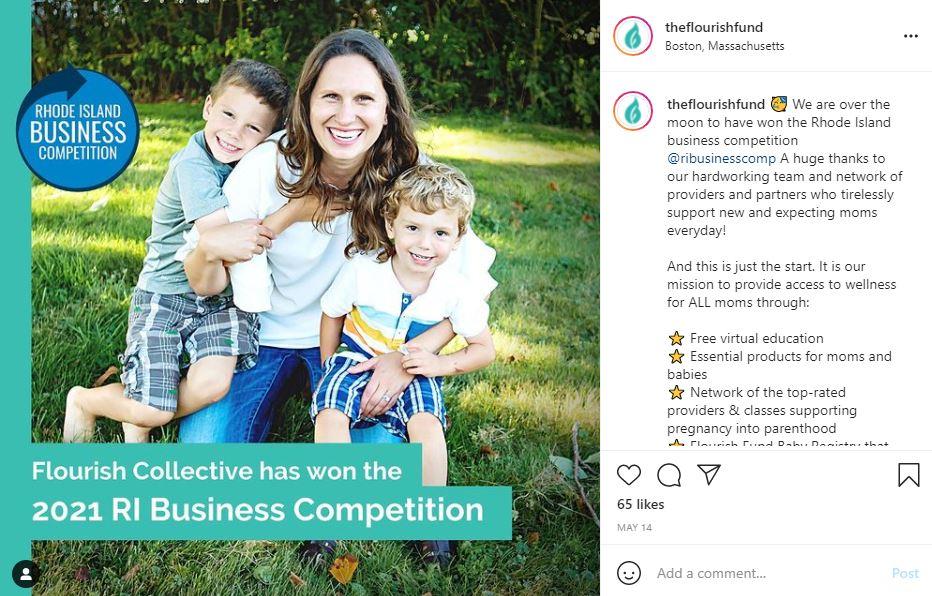 flourish fund instagram