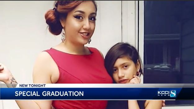 mom graduates