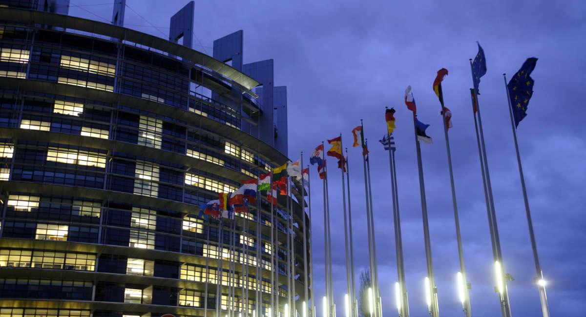 EU Flags and the European Parliament