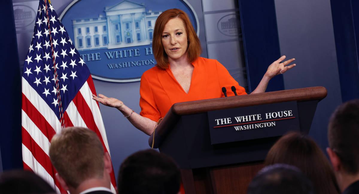 White House Press Secretary Psaki Holds Monday's Briefing