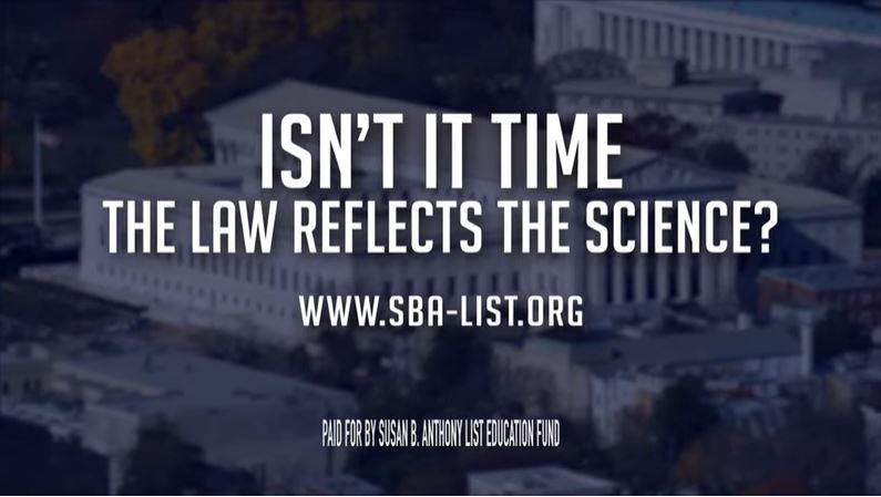 SBA List ad screenshot