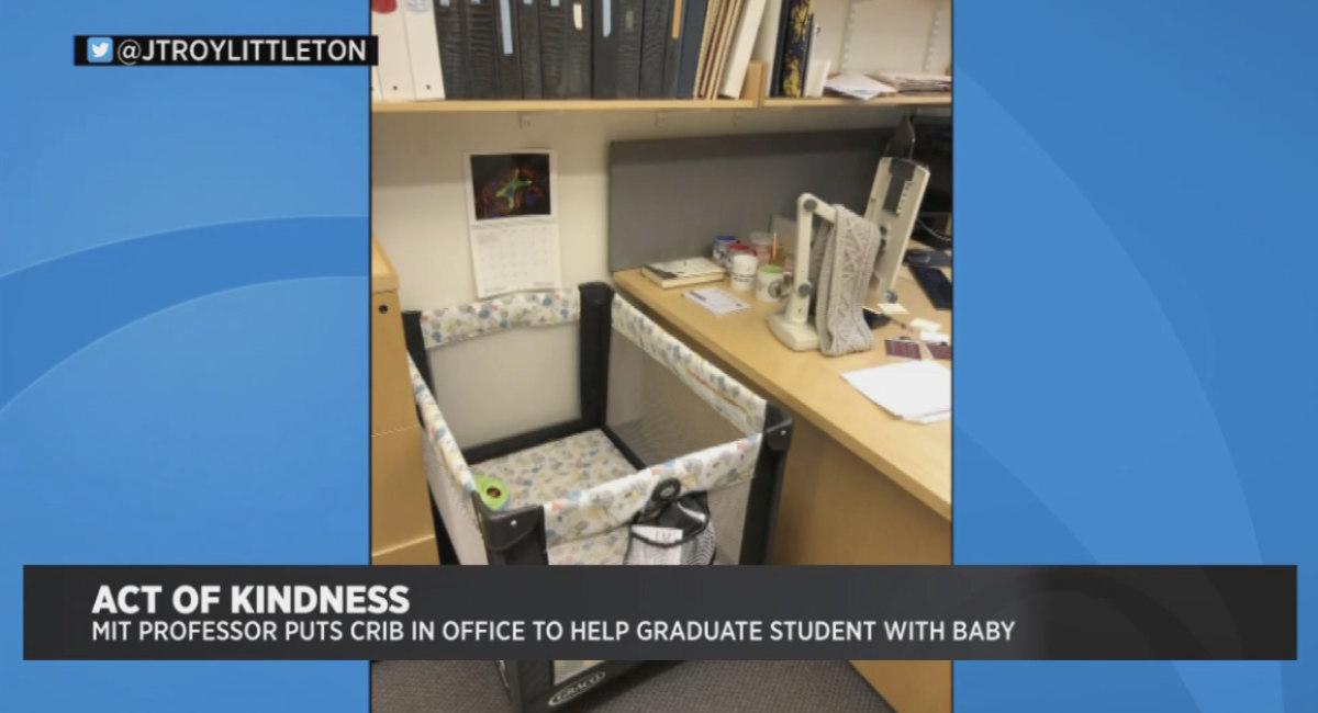 mit professor crib