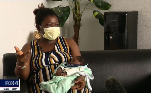 Pregnant mother shot while leaving church welcomes miracle son