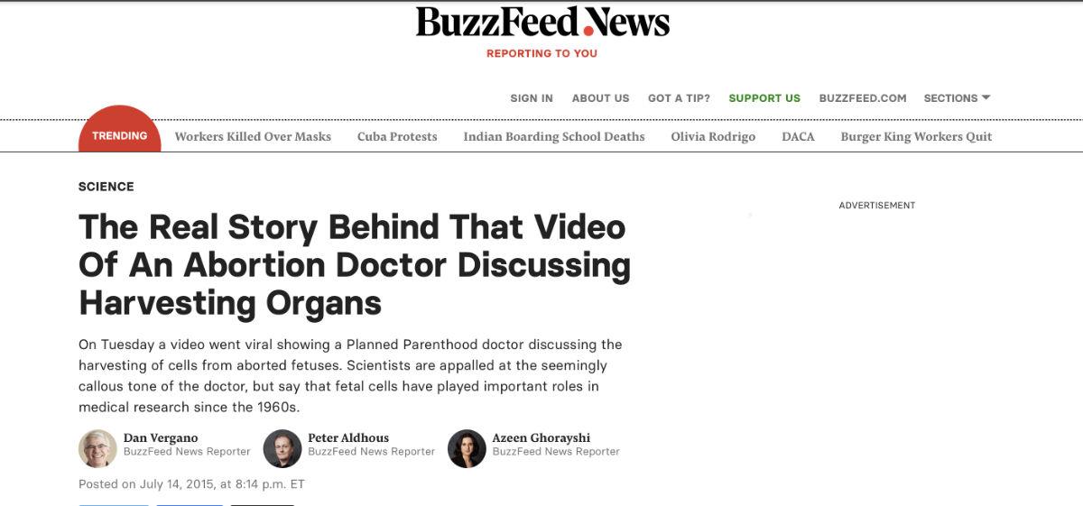 harvesting organs buzzfeed screenshot