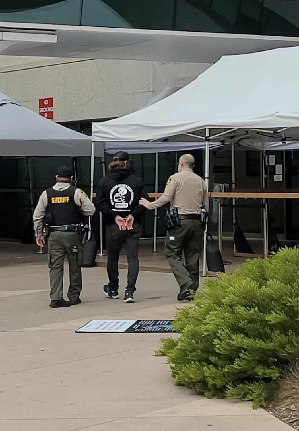 survivors arrest