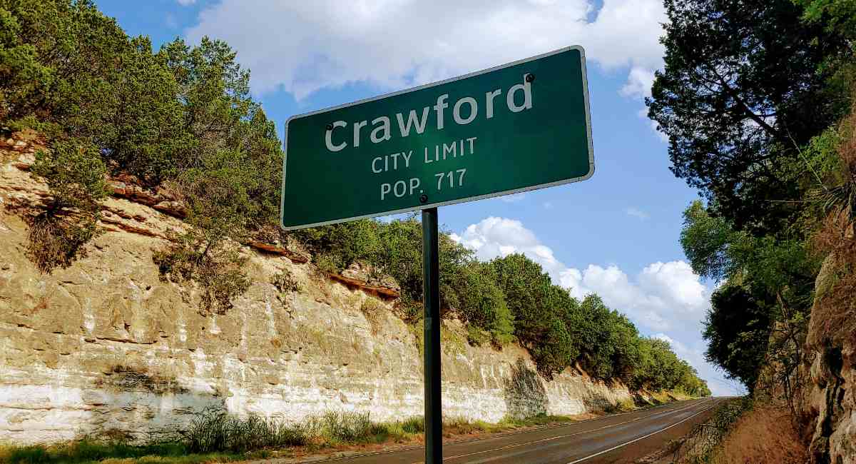 crawford texas sign mark lee dickson