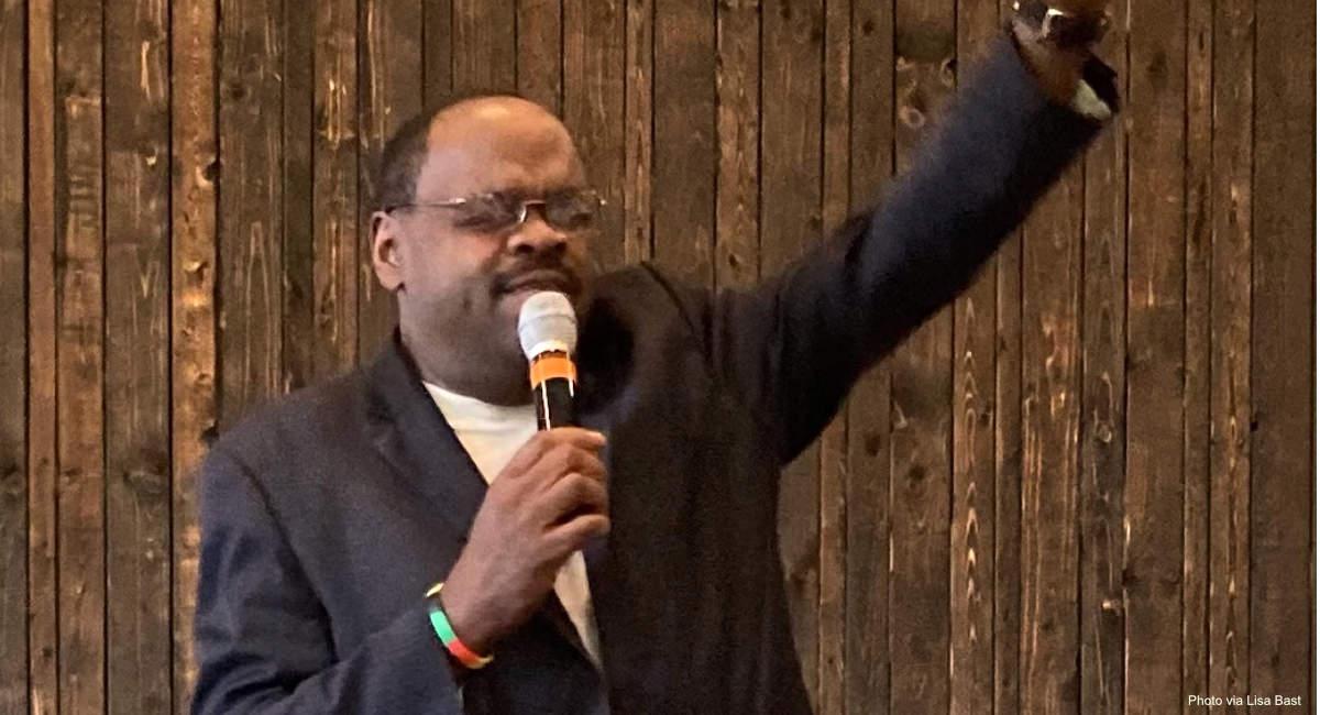 Black pastor pro-life