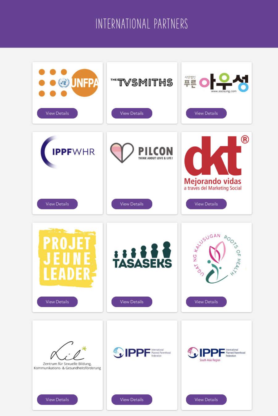 AFY international partners 1