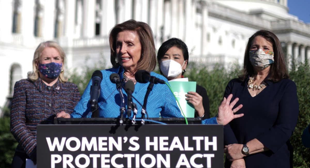Women's Health Protection Act, Pelosi