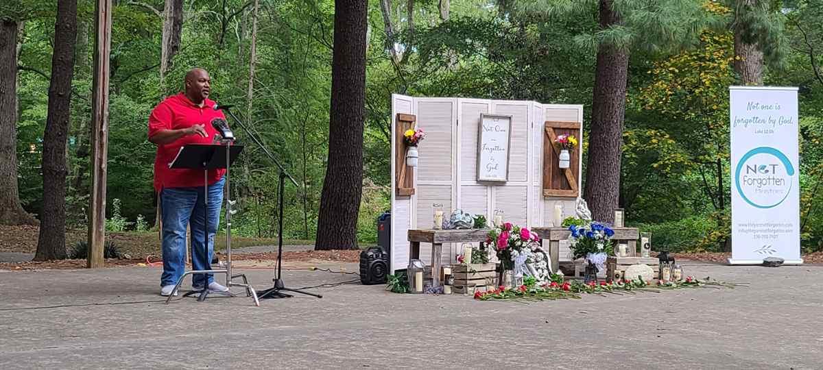 Lt. Gov Mark Robinson abortion memorial