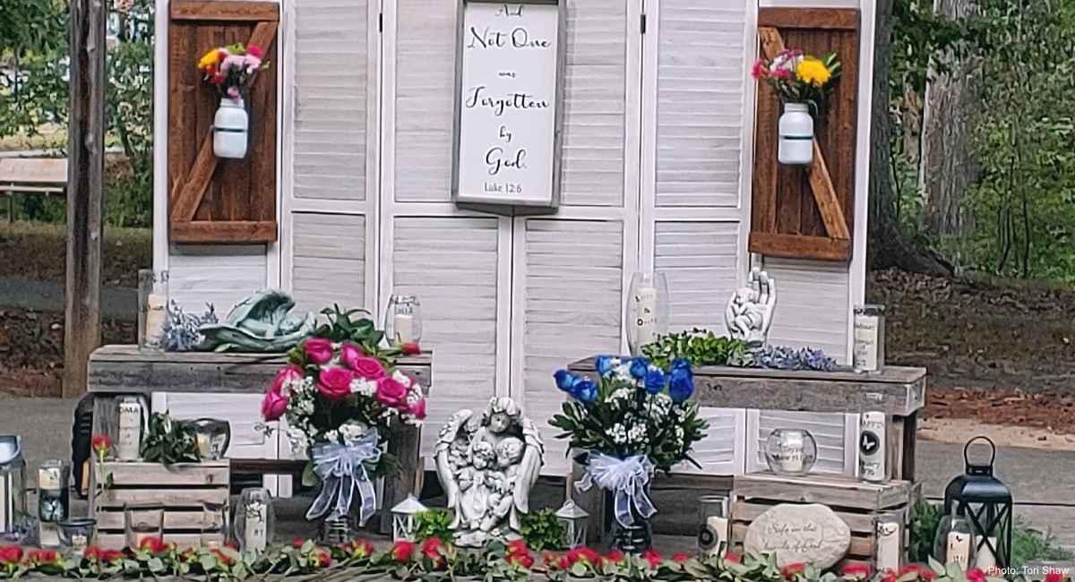 not forgotten abortion memorial