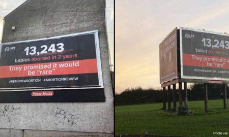 Ireland billboards
