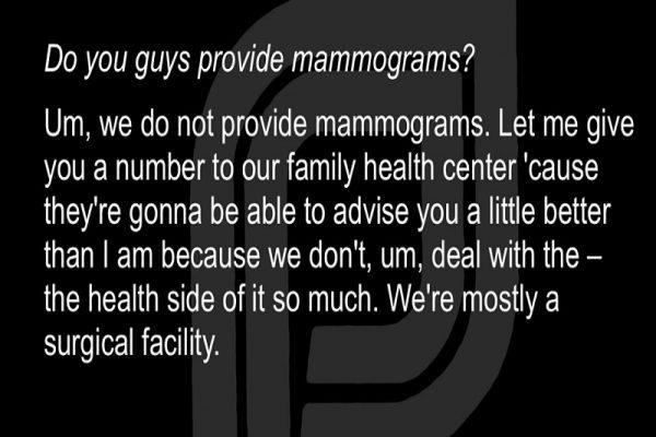 Mammosham: Mammogram Falsehoods
